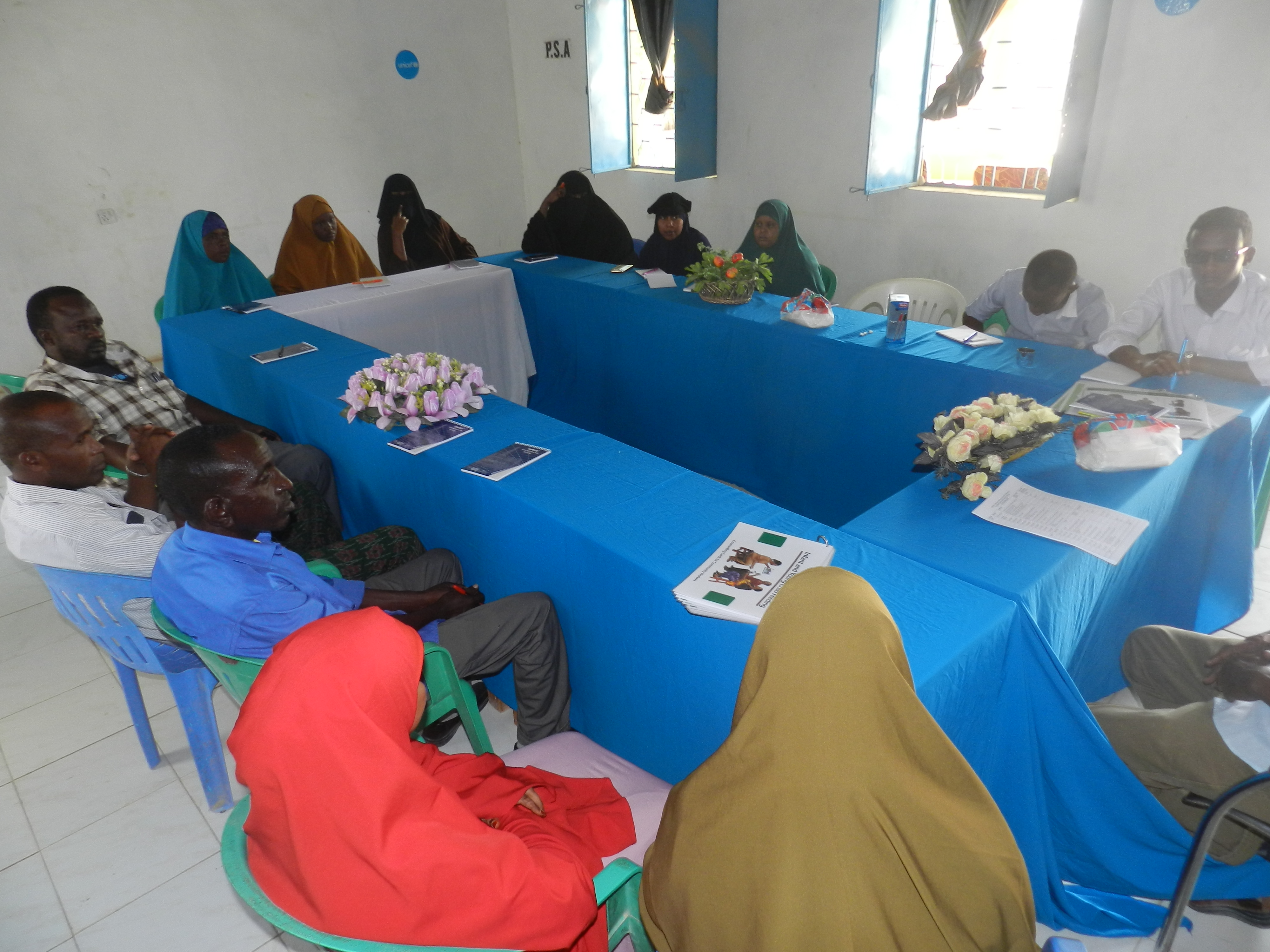 C-IYCF counseling for Community Health Workers (CHWs) Training in Bossaso
