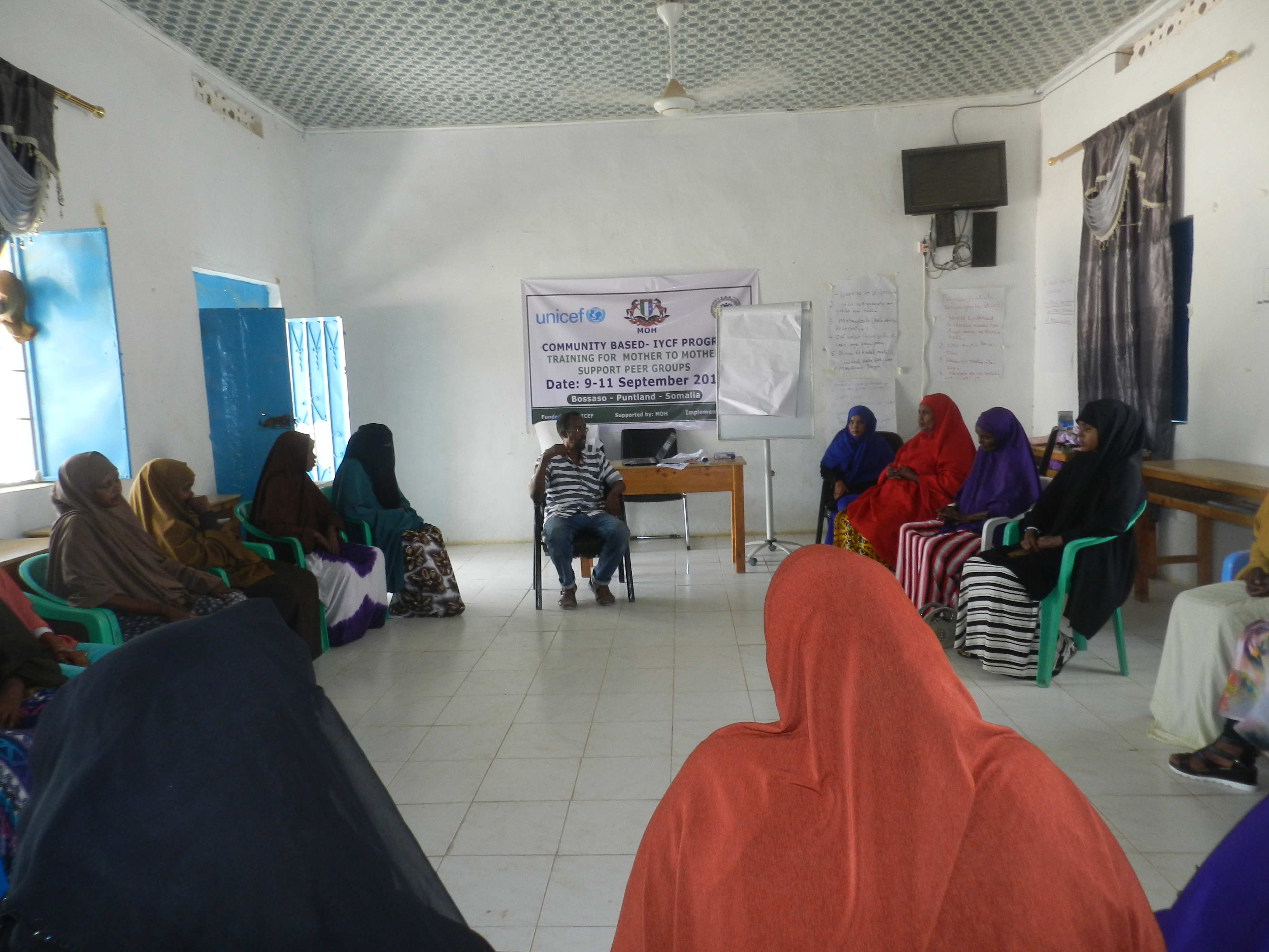 Mother to Mother Support Group Training in Bossaso