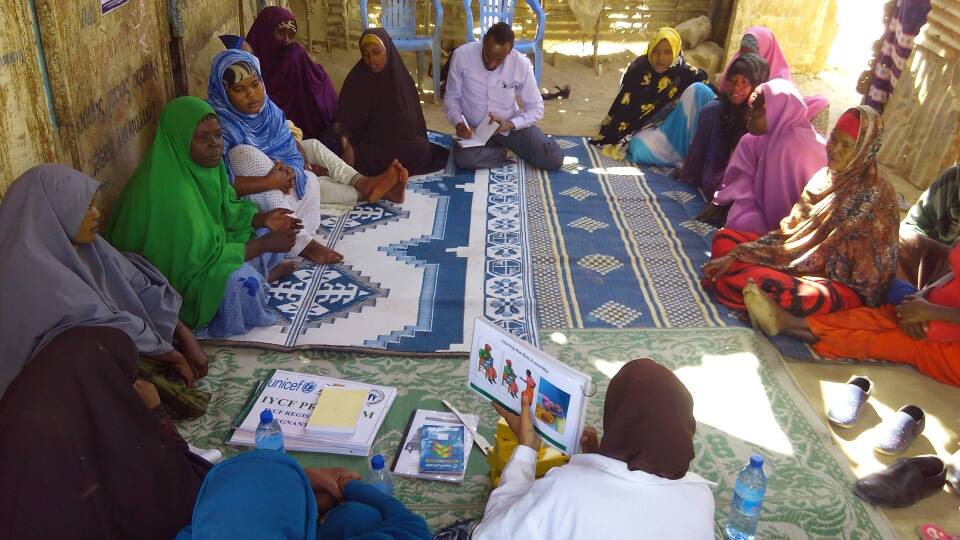 Community based intervention for protection, promotion and support of breastfeeding