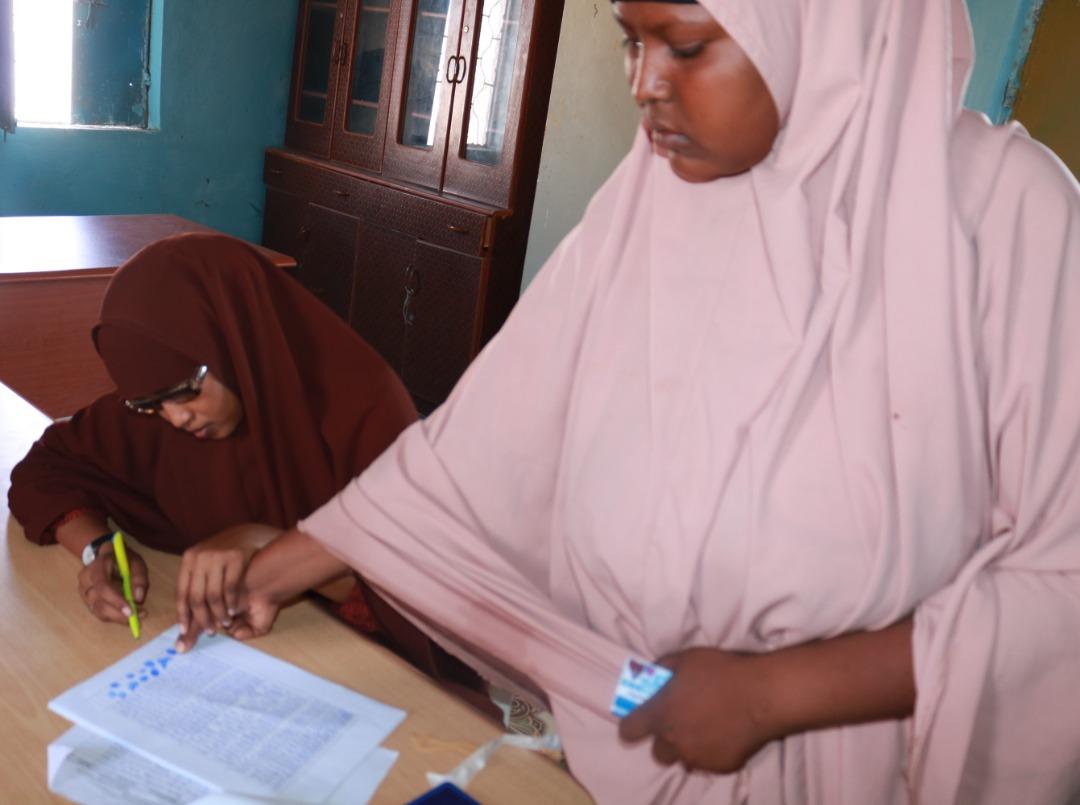 Relief Project Progress-Bosaso IDP's