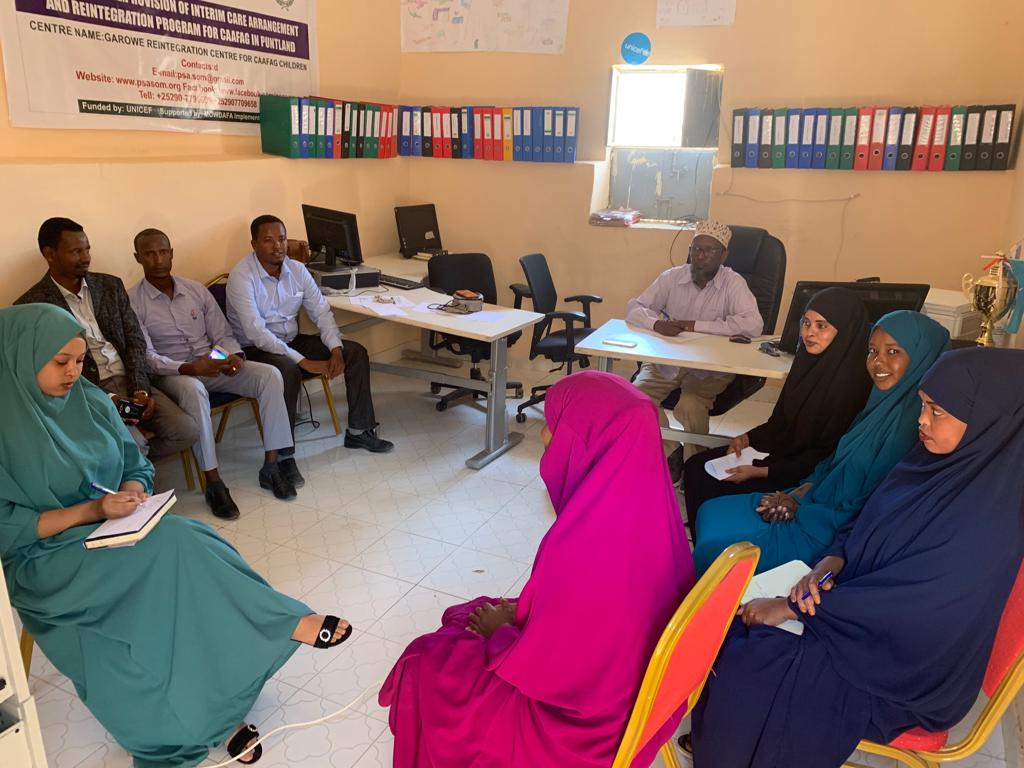 Psycho-social counselling workshop for social workers