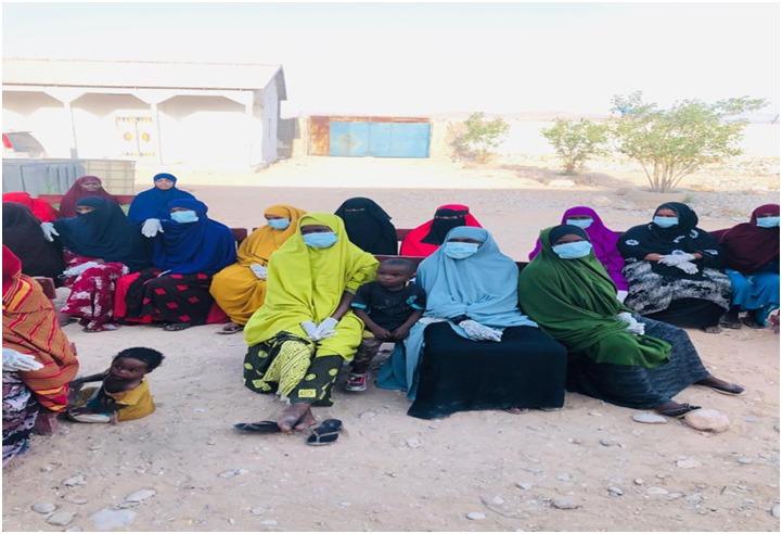 SGBV community dialogue session in Bariga Bosaso IDPs camp