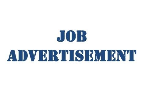 JOB ADVERTISEMENT FOR CONSULTANCY