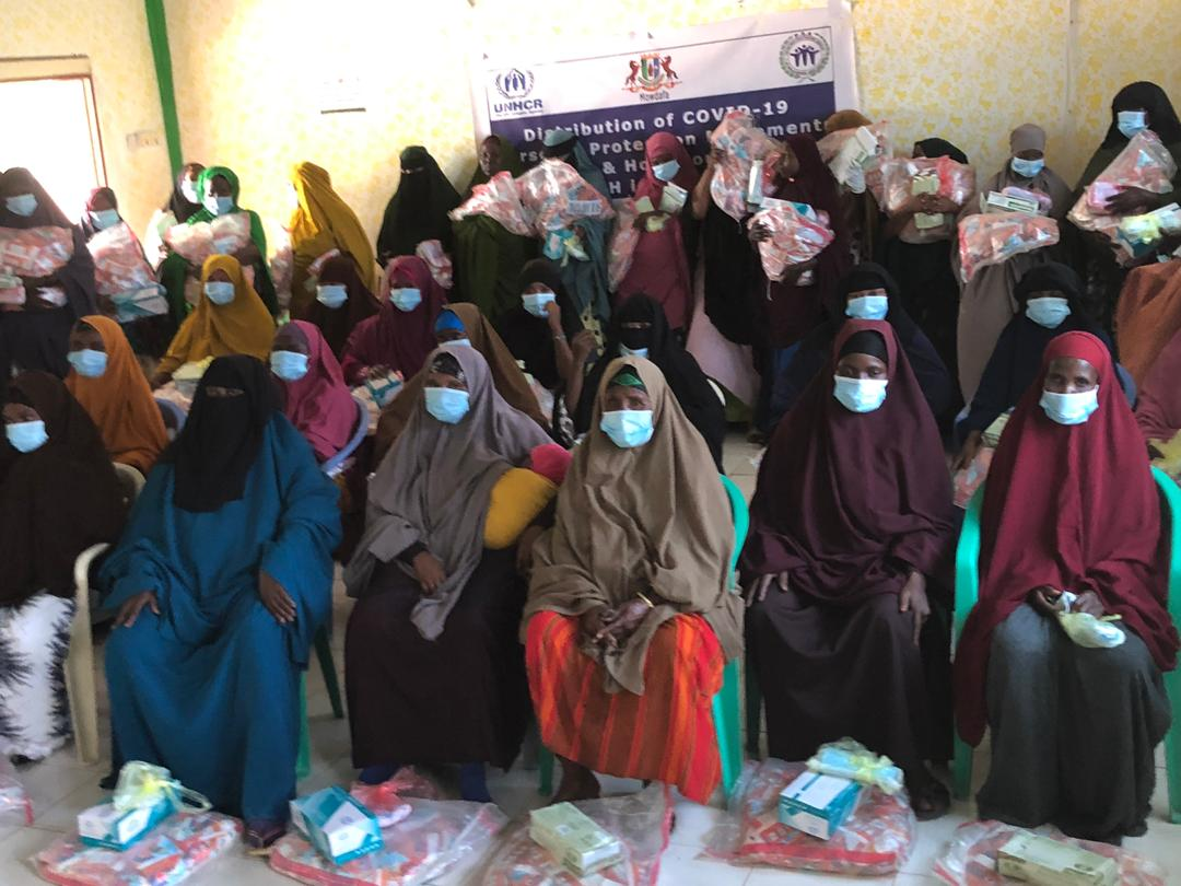 COVID-19 PERSONAL PROTECTION EQUIPMENT (PPE) DISTRIBUTION TO IDPs